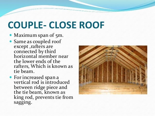 Report On Roof And Roof Covering