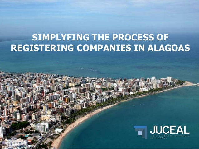 SIMPLYFING THE PROCESS OF REGISTERING COMPANIES IN ALAGOAS