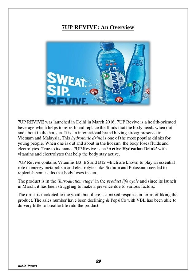 Report on 7up