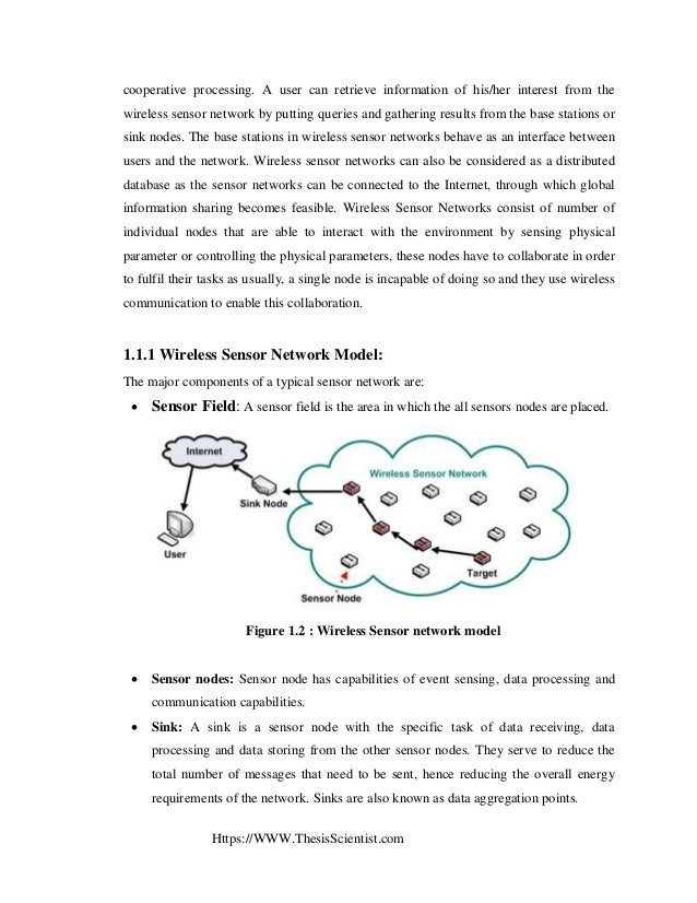 Phd thesis on wireless sensor network security