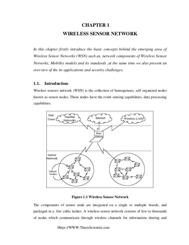 wireless sensor network thesis