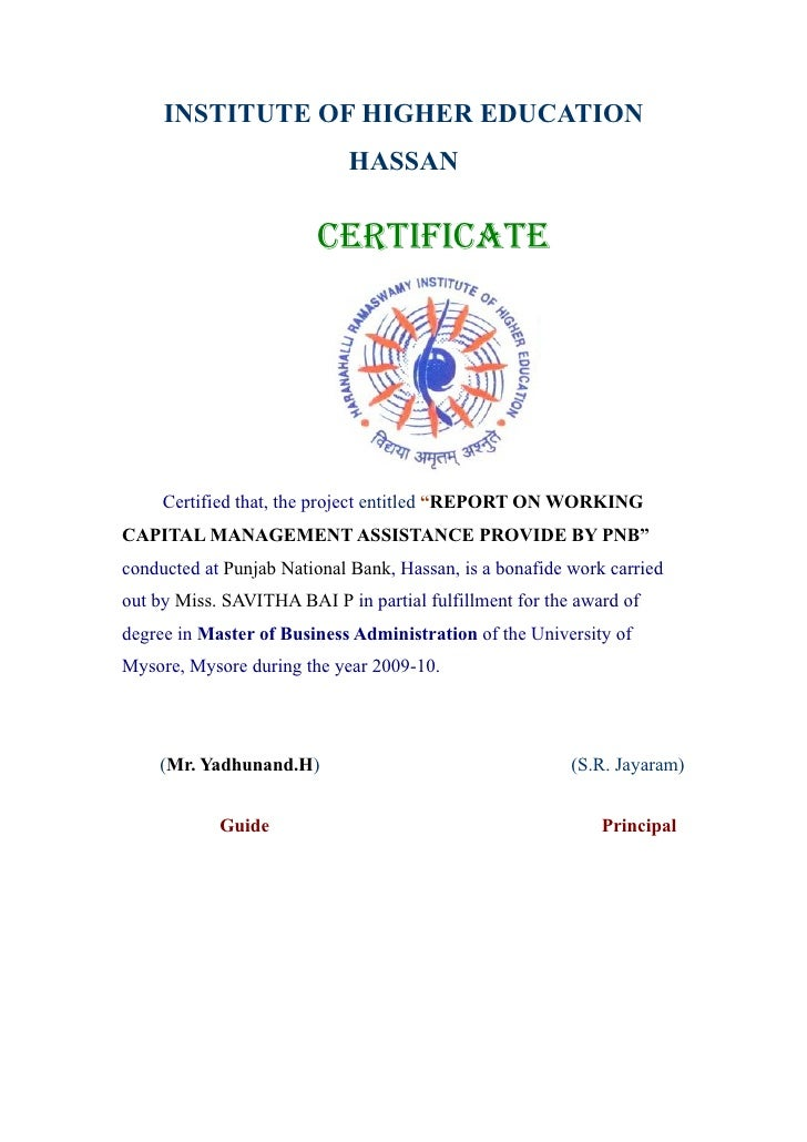 report on working capital management Babasab patil babasab patil (ಬಾಬಾಸಾಬಸಪಾಟೀಲ) well known as ಕರೀಸತೇ in benadi patil born in khadklatand brought up in benadipatil now he is presently working in ngareeka exports ltd.