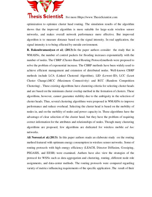 master thesis on wireless networks Spring semester 2009 profdrlotharthiele master thesis neighbor discovery and topology construction of wireless sensor networks aldo bazzi supervisors.