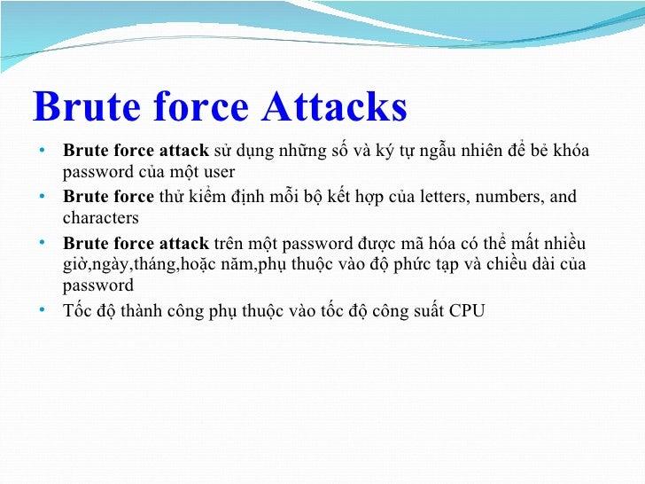 Report password cracking (2)