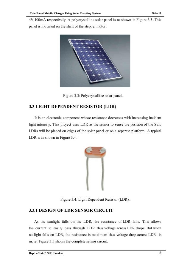 Coin Based Mobile Charging Using Solar Tracking System
