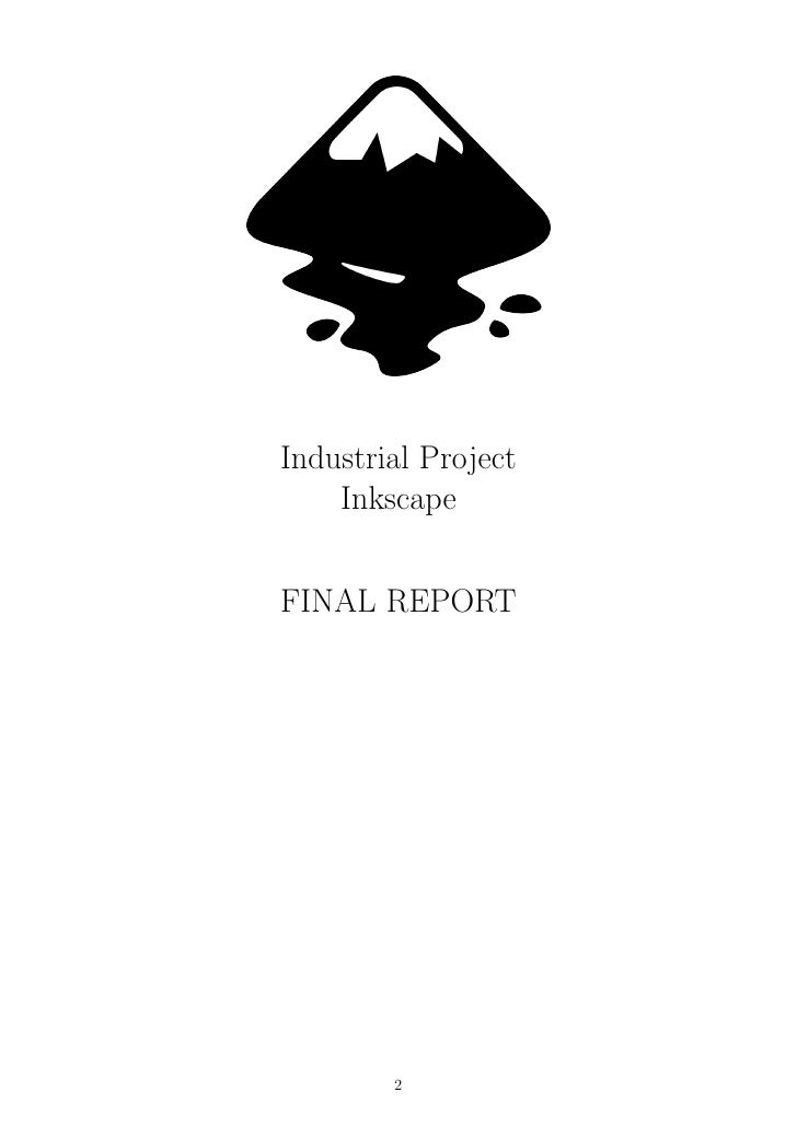 Inkscape industrial project report