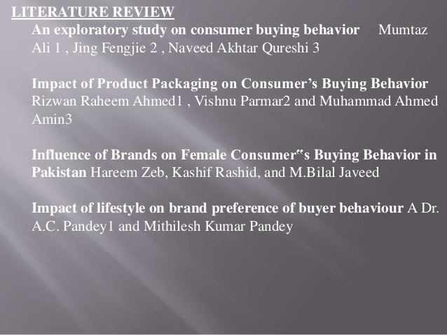 literature review on consumer buying behavior of insurance product The literature review concludes a high level overview about consumer behaviour it contains consumer behaviour from an individual perspective and considers consumer behaviour in the context of a rational purchasing decision process.