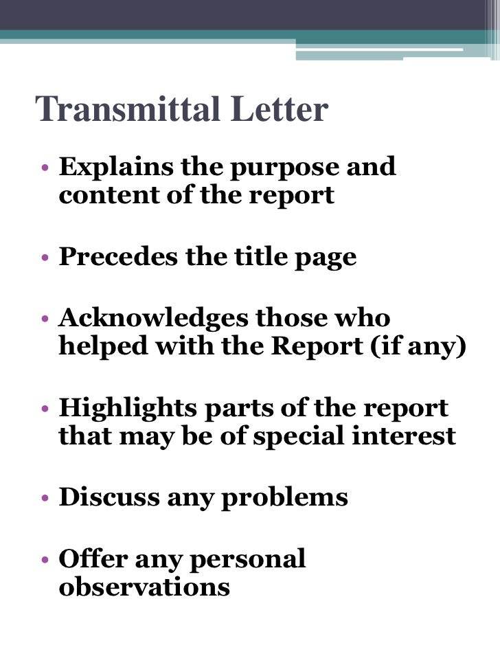 Recommendation report transmittal letter spiritdancerdesigns Image collections