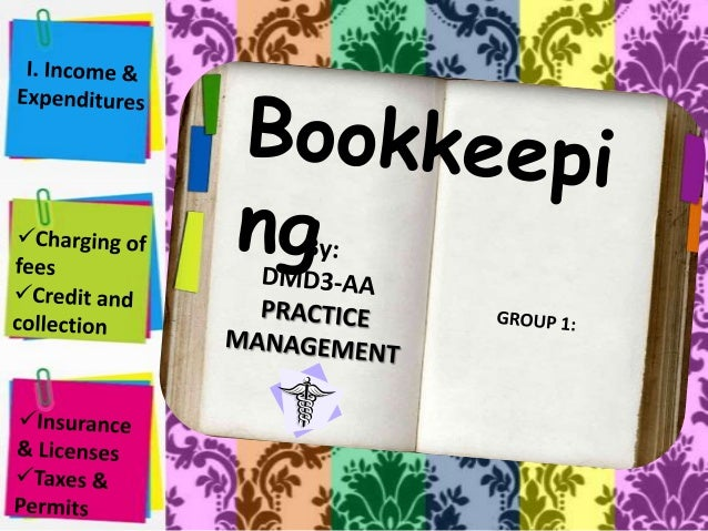 Bookkeeping • It is simply the recording of financial transactions. • Transactions include purchases, sales, receipts and ...