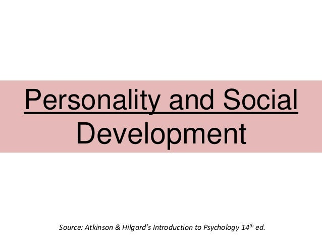 Psychology 14th Ed 36 Personality And Social