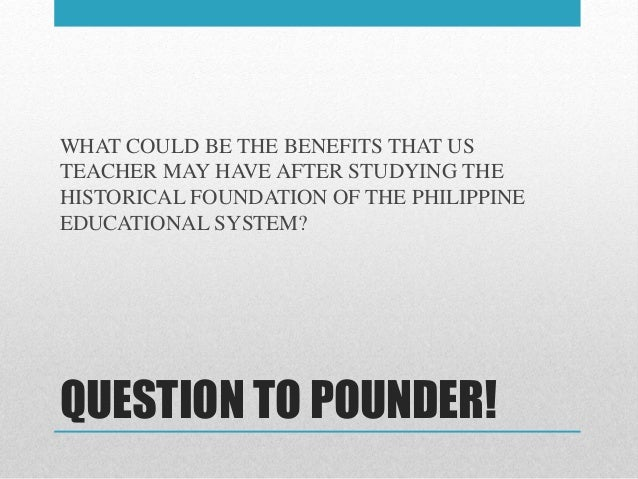 Legal basis of philippine education