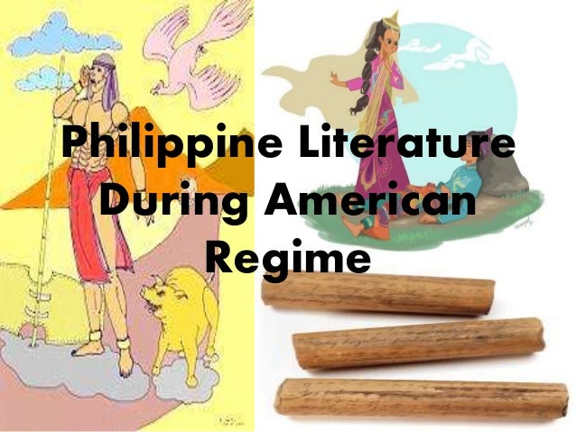 american colonial period in philippine literature Description: presents the progress and variations of philippine literature during spanish colonial period and explains the importance of american colonization in the improvement of philippine literature.
