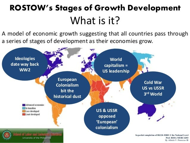 Report Rostow development theory