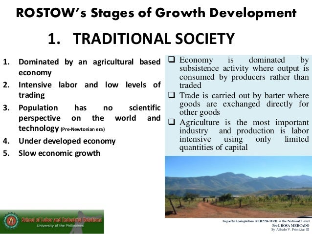 Rostows theory