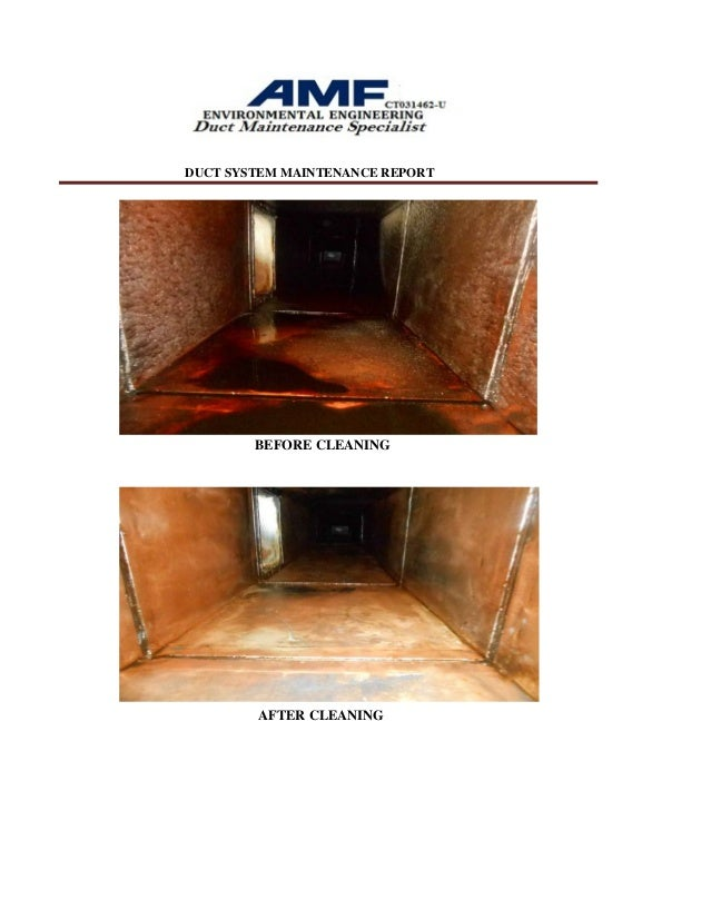 how to clean home kitchen exhaust duct