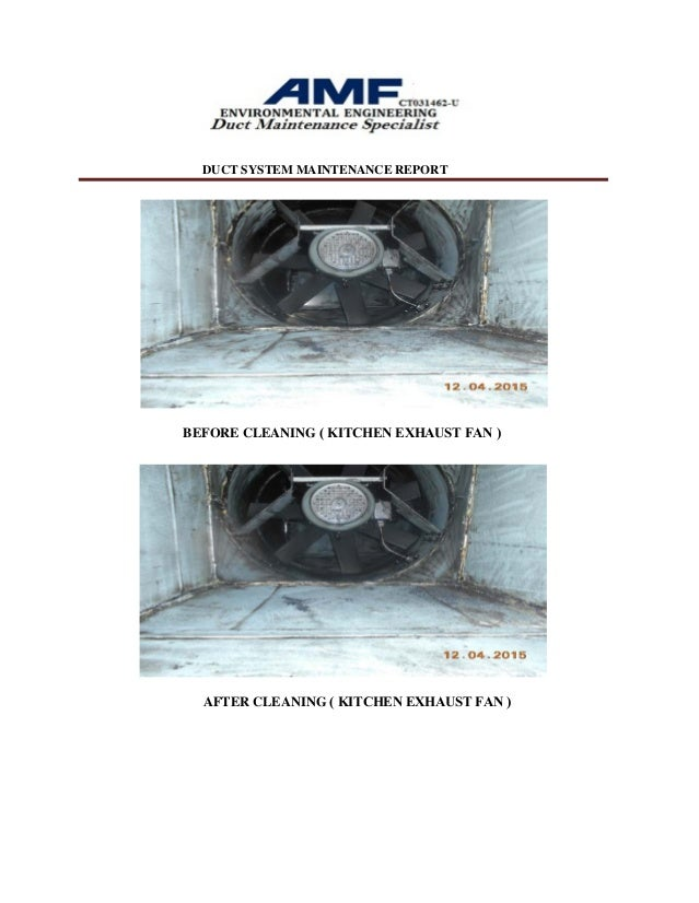 Kitchen Hood And Duct Exhaust Cleaning Service