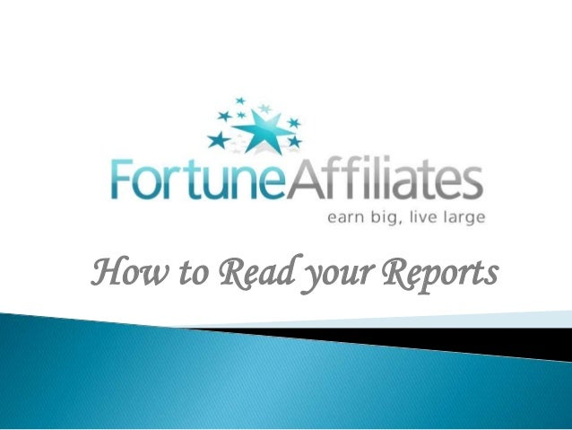 How to Read your Reports
