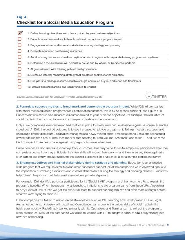Report Social Media Education for Employees by Charlene Li and Ed – Chemistry Puns Worksheet