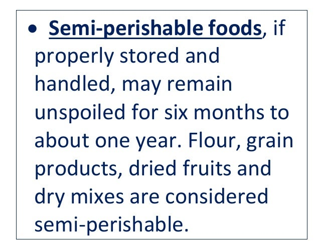 What Are Considered Goods Foods