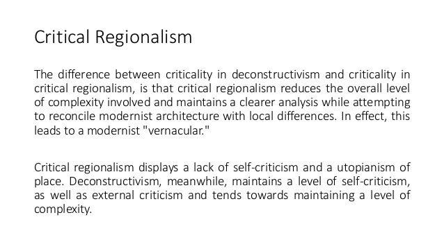 Regionalism in canada essay