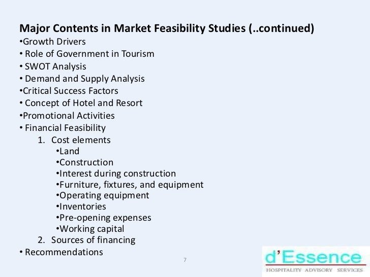 feasibility study of beach resort How to perform a feasibility study for indoor and outdoor waterpark resorts 5 waterpark resort market for studies on waterparks, an analysis of the existing indoor.