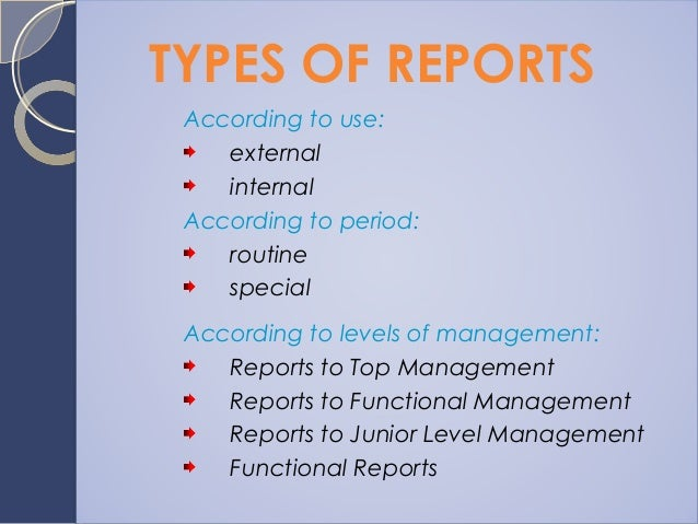 What is a business report?