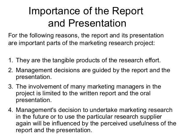 Original report writing