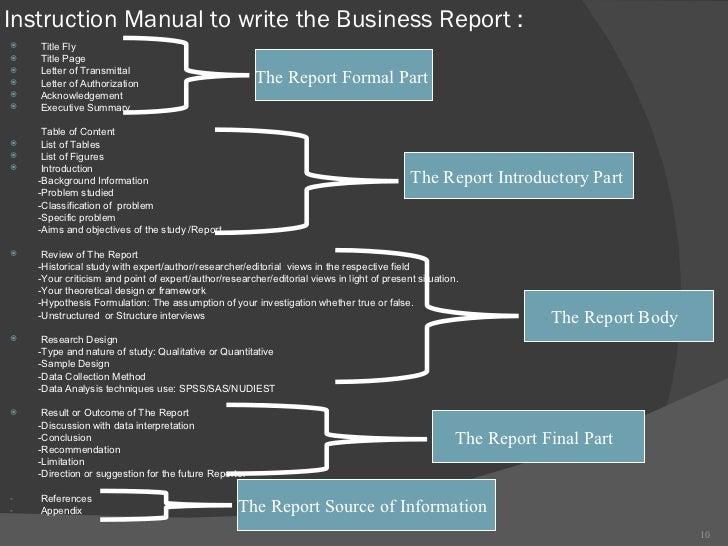 report writing instruction manual rh slideshare net technical writing instruction manual technical writing instruction manual example