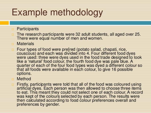 Methodology essay