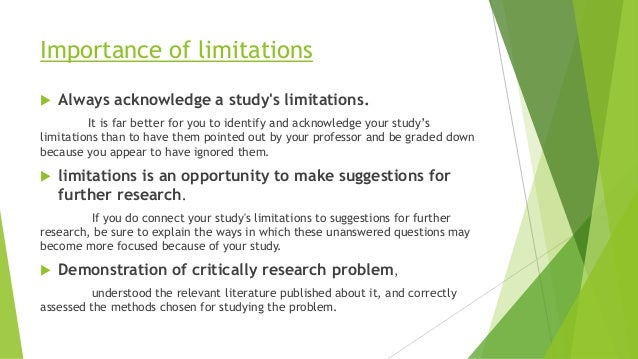 limitations and constraints report What are scope and limitations in research a: time constraints and budget are two common limitations detail the purpose of the report.