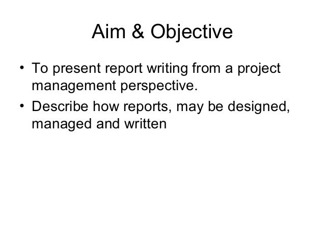 How to Write a Project Summary Report