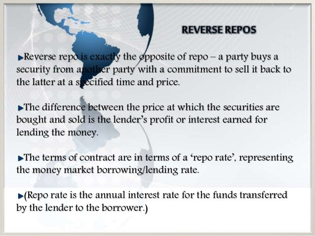 Repos Repurchase Agreement
