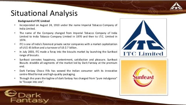 sunfeast biscuits swot Swot analysis strengths  market leader in branded atta segment with ~75%  share sunfeast (inr20bn+) 2003 itc biscuits no 3 player in.