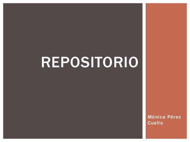 Mónica Pérez Cuello REPOSITORIO