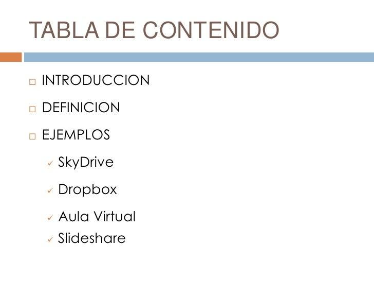 Repositorios de información b Slide 2