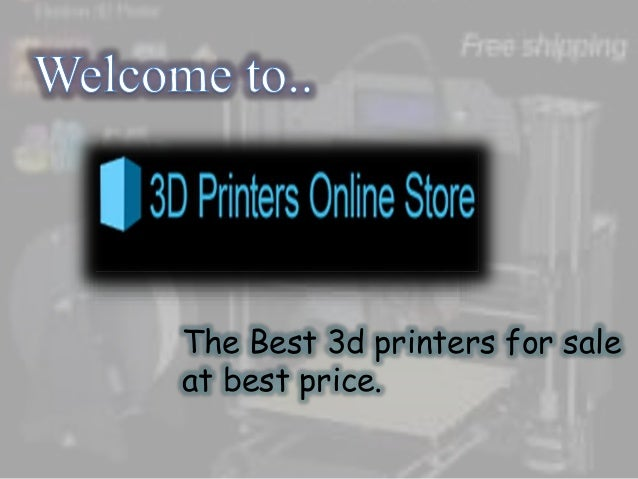 The Best 3d printers for sale at best price.