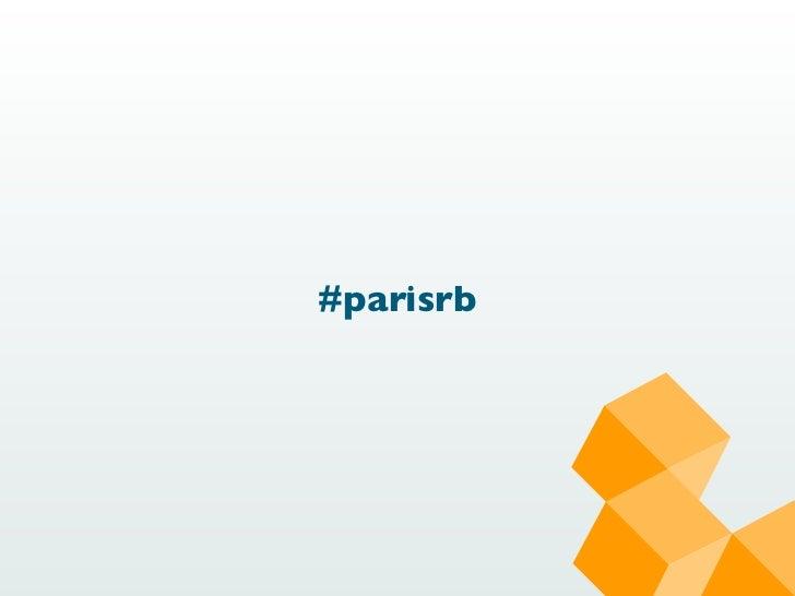 #parisrb