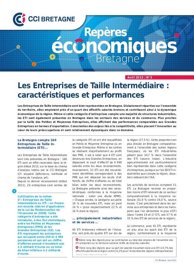 Les Entreprises de Taille Intermédiaire :caractéristiques et performancesLes Entreprises de Taille Intermédiaire sont bien...