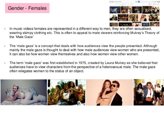portrayal of women in music videos