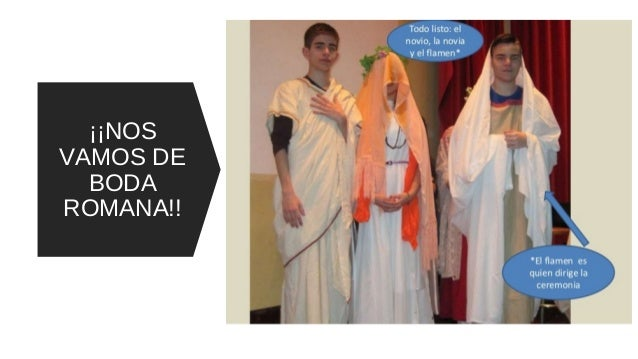 Matrimonio In Romana : Representación boda romana