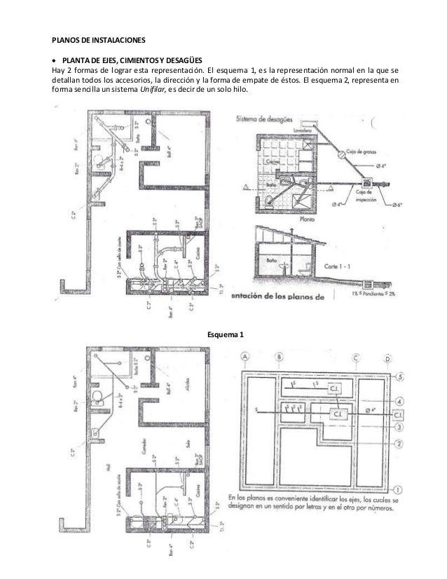 Representaci n gr fica de planos arquitect nicos for Representacion arquitectonica en planos