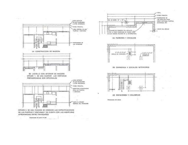 Representaci n gr fica de planos arquitect nicos for Simbologia en planos arquitectonicos