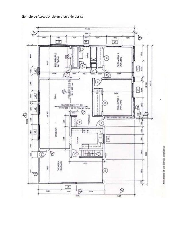 representaci n gr fica de planos arquitect nicos
