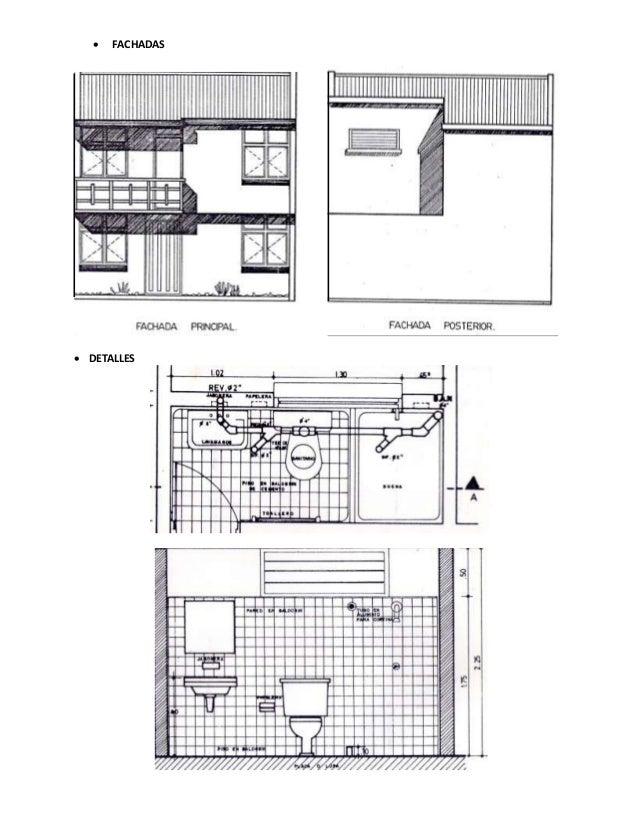 Representaci n gr fica de planos arquitect nicos for Fachadas en planos arquitectonicos