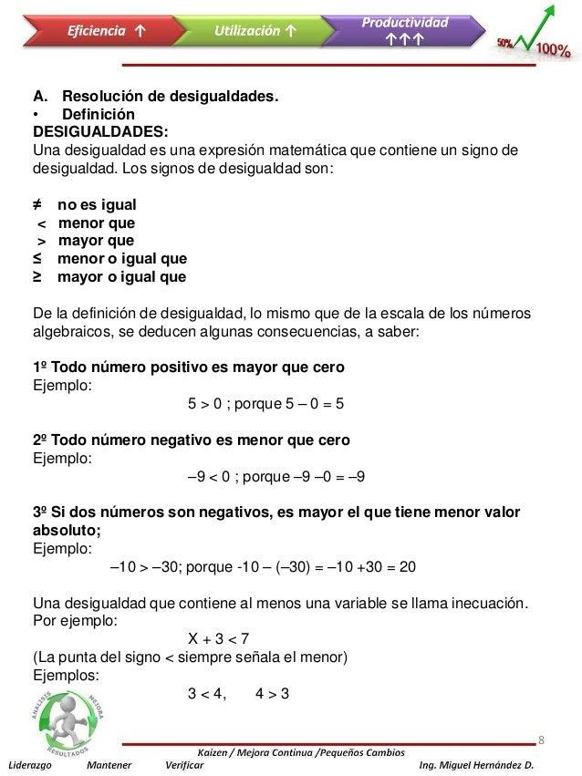 Atractivo SÃmbolos De Desigualdad Hoja De Trabajo Modelo - hojas de ...