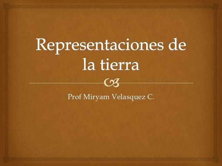 Prof Miryam Velasquez C.