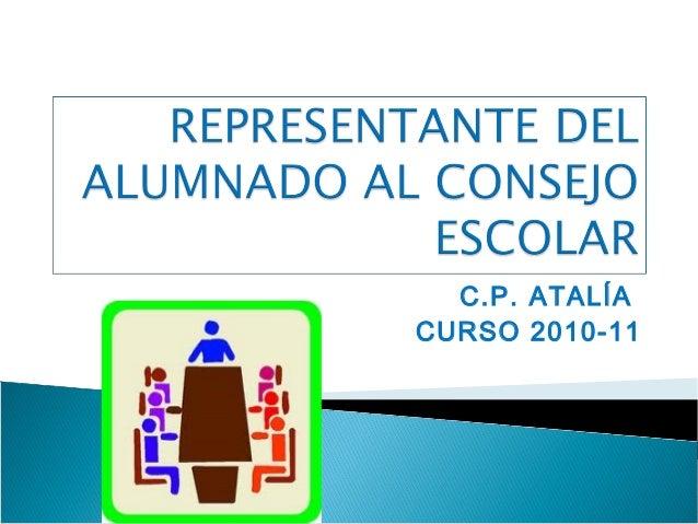 C.P. ATALÍA CURSO 2010-11