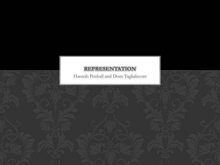 Hannah Penhall and Dom Taglialavore<br />representation<br />