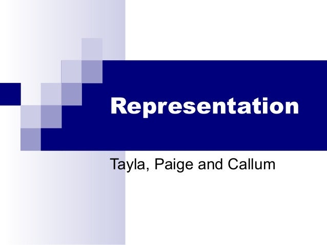 RepresentationTayla, Paige and Callum