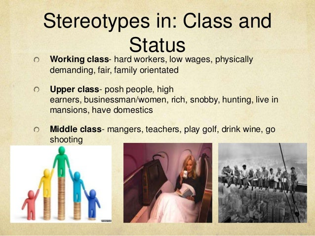 stereotypical working class